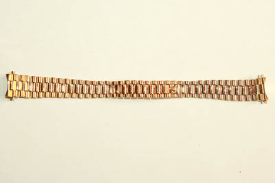Armband Gold, Reparatur Vorher/nachher
